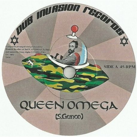 Humble Brother ‎– Queen Omega - 7""