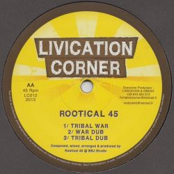 Rootical 45 ‎– Daniel / Tribal War - 12""