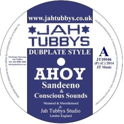 Sandeeno /  Conscious Sounds /  Jah Ragga -  Ahoy / Head Rush - 10""