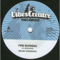 Micah Shemiah - Fire Burning - 7""