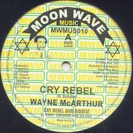 Wayne McArthur - Cry Rebel , Words Of Jah Message - 12""