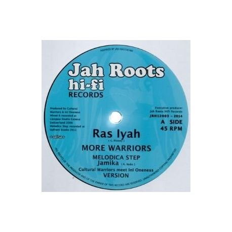 Ras Iyah - More Warriors / Give Thanks - 12""