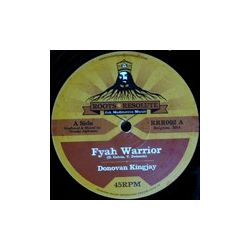 Donovan King Jay /  Lyrical Benjie - Fyah Warrior / Jah Shine Bright - 12""