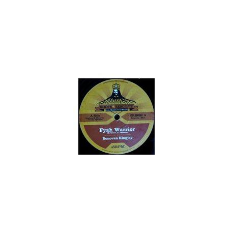 """Donovan King Jay /  Lyrical Benjie - Fyah Warrior / Jah Shine Bright - 12"""""""