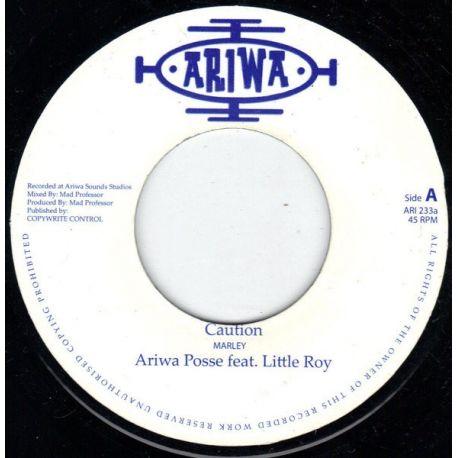 "Ariwa Posse /  Little Roy - Caution - 7"""