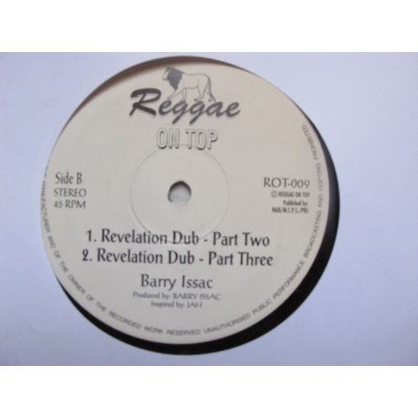 Barry Issac - Revelation Time - 12""
