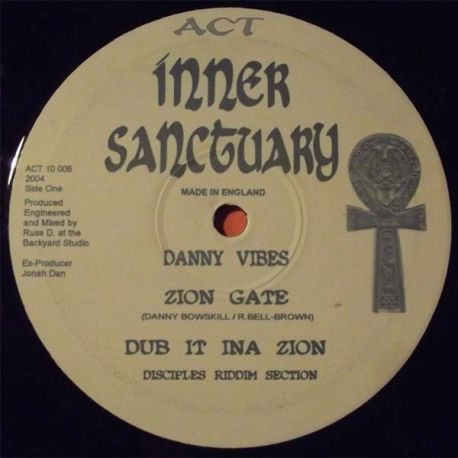 Danny Vibes /  Kenny Knots - Zion Gates / In This Time - 10""