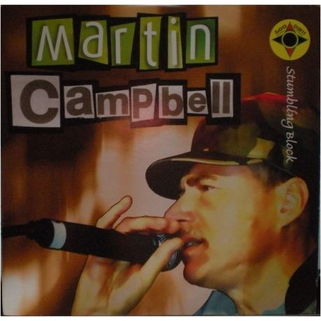 "Martin Campbell /  Hi Tech Roots Dynamics - Stumbling Block / Eastern Bloc - 10"""