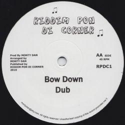 """Sammy Gold /  Monty Dan - Warrior / Bow Down - 10"""""""