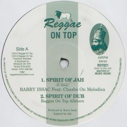 Barry Issac Feat. Chazbo - Spirit Of Jah - 12""