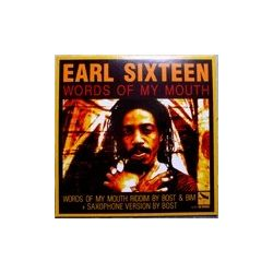 Earl Sixteen /  Omar Perry - Words Of My Mouth / Love Inna Mi Hearth - 10""