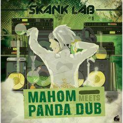 """Panda Dub /  Mahom - Skank Lab 1 - Mahom Meets Panda Dub - 12"""""""