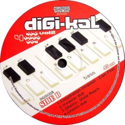 Various - Digi-Kal 4 The Hard Way Vol.2 - LP