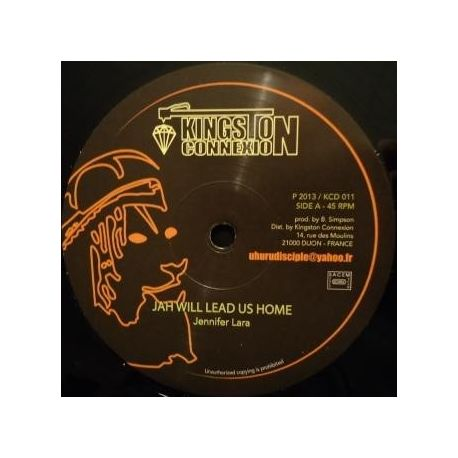 Jennifer Lara - Jah Will Lead Us Home - 12""