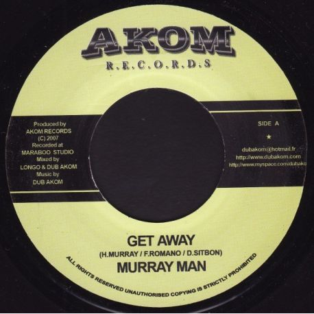 Murray Man - Get Away - 7""