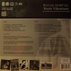 Martin Campbell /  Raphie Arenas /  Alien dread /  - Roots Vibrations - LP