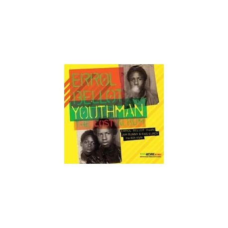 Errol Bellot - Youthman - The Lost Album - LP