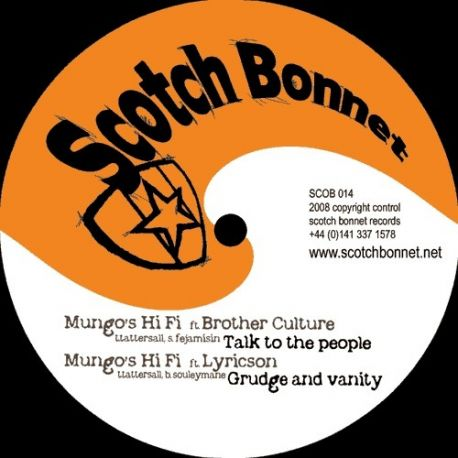 Mungo's Hi-Fi - Talk To The People / Grudge And Vanity / How You Bad So / Mexican Bean Riddim - 12""