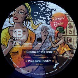 "Taiwan Mc /  S'Kaya /  Green Cross /  - Pressure Riddim - 12"""