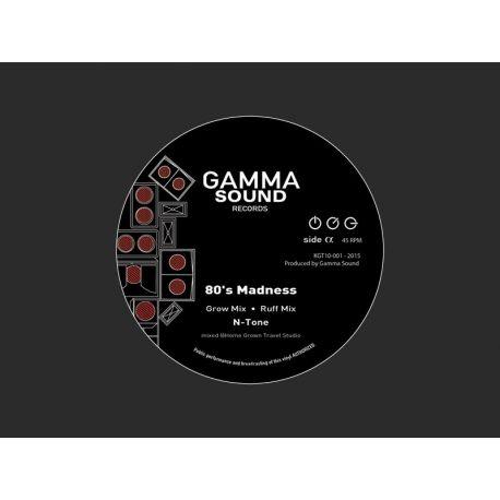 """Gamma Sound / N-Tone / Hi-Fif - 80' Madness / E.Q. Teachings - 10"""""""