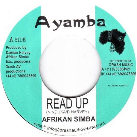 """Afrikan Simba - Read Up - 7"""""""