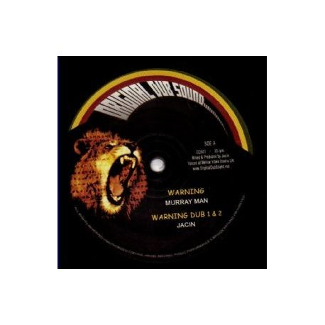 Murray Man - Warning - 12""