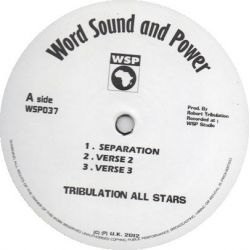 Tribulation All Stars - Separation / Arguement Dub - 12""