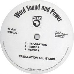 "Tribulation All Stars - Separation / Arguement Dub - 12"""