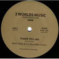 Mark Tyson /  Blue Nile X-Press, The - Thank You Jah - 7""