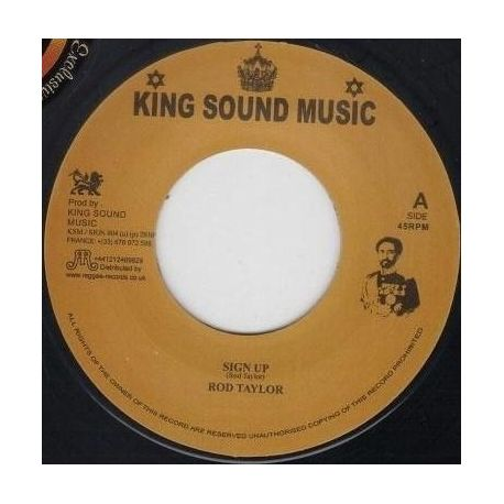 Rod Taylor - Sign Up - 7""