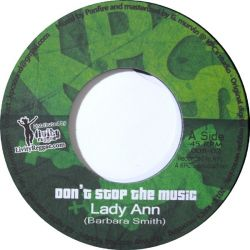 Lady Ann - Don't Stop The Music - 7""
