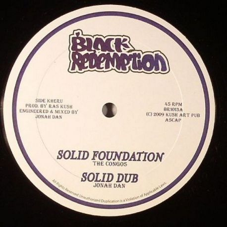 Congos, The - Solid Foundation - 10""