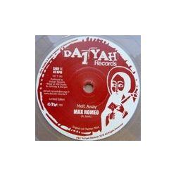 "Max Romeo - Melt Away / Dub Kette - 7"""