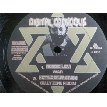 Gussie Ranks /  Alcapone  /  Robbie Levi - Bully Bwoy / Herb Affair / War - 10""