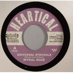 Michael Rose /  Rootsamala - Universal Struggle / Decisions - 7""