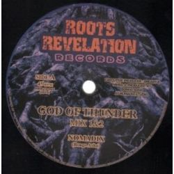 Nomadix  /  Eastern Roots /  Kohelet Sound - God of Thunder / Progress Dub - 10""