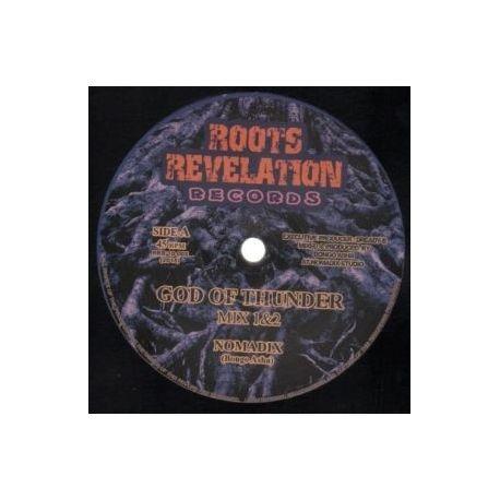 """Nomadix  /  Eastern Roots /  Kohelet Sound - God of Thunder / Progress Dub - 10"""""""