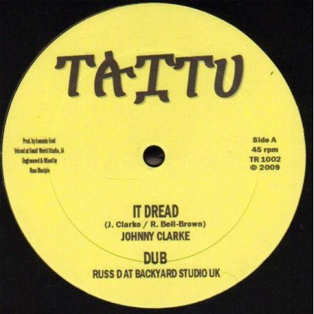 "Johnny Clarke /  Prince Alla - It Dread / This Feeling - 10"""