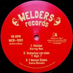 Murray Man /  King General - Victim / Stand Up - 12""