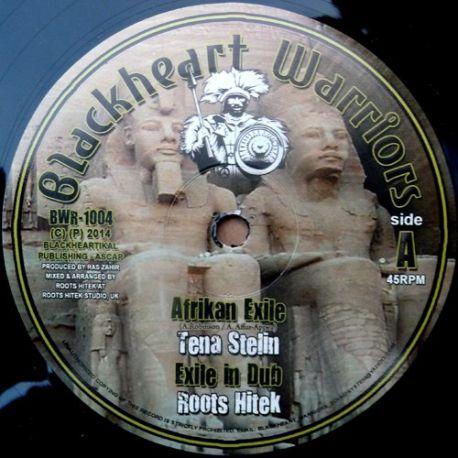 """Tenastelin /  Roots Hitek - Afrikan Exile / Return To Glory - 10"""""""