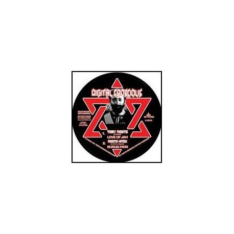 """Tony Roots /  Roots Hitek - Love Of Jah - 10"""""""