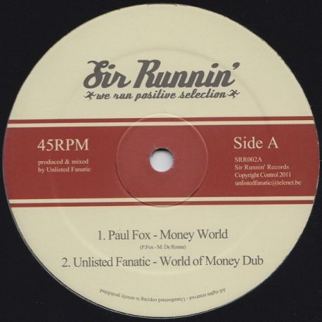 Paul Fox - Money World - 12""