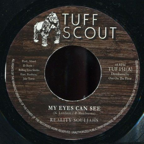 Reality Souljahs - My Eyes Can See - 7""