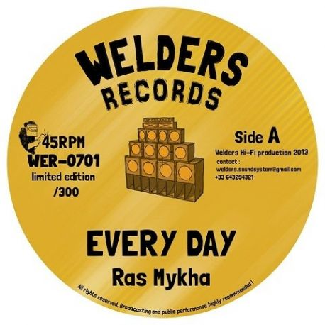 "Ras Mykha - Every Day - 7"""