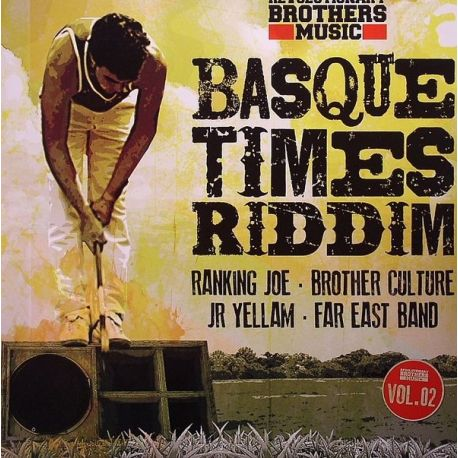 "Ranking Joe /  Brother Culture /  Jr Yellam /  - Basque Times Riddim Vol02 - 10"""