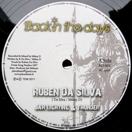 "Ruben Da Silva /  Mickey D  - Jah Lightning & Thunder/ Dub Lightning - 10"""