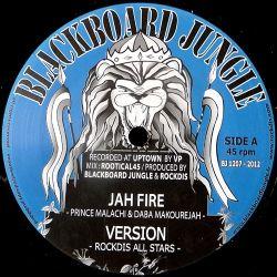 "Prince Malachi /  Daba Makourejah - Jah Fire - 12"""