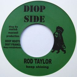 "Rod Taylor /  Biga - Keep Shining / Kulcha Paton - 7"""