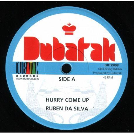 "Ruben Da Silva - Hurry Come Up - 7"""