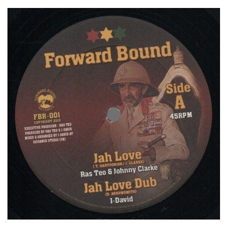 "Ras Teo /  Johnny Clarke /  Ras Teo /  - Jah Love / Born A Fighter - 10"""